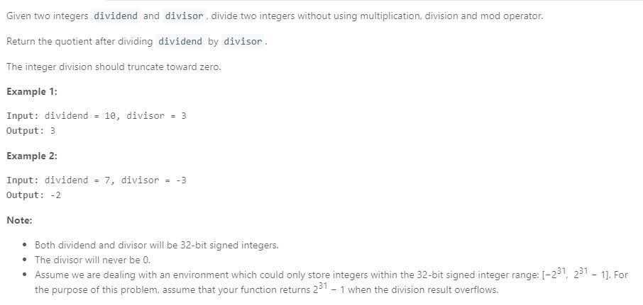 leetCode-29-Divide-Two-Integers