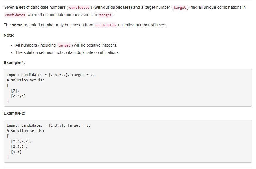 leetCode-39-Combination-Sum