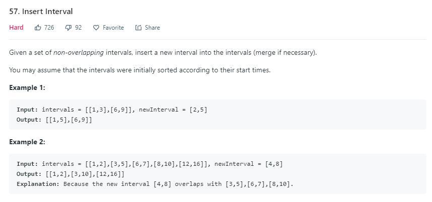 leetCode-57-Insert-Interval