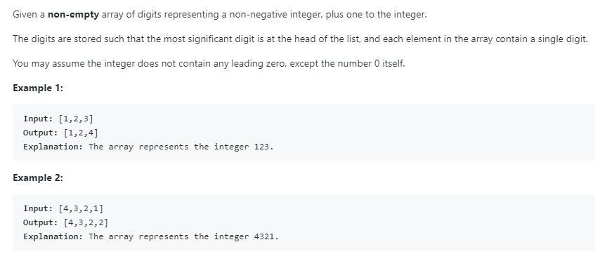 leetCode-66-Plus-One