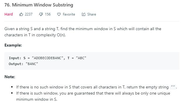 leetCode-76-Minimum-Window-Substring